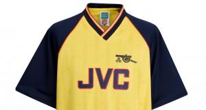 "Гостевая форма ""Арсенала"" 1988-89"