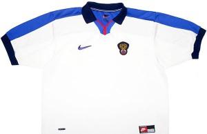 Форма сборной России 1998-2000