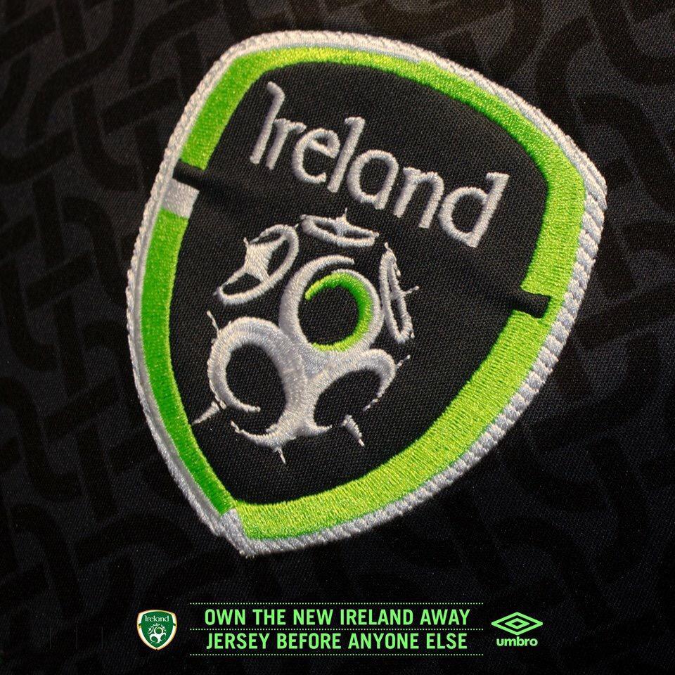Новая форма сборной Ирландии 2016