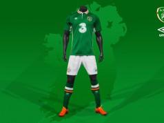 Домашняя форма сборной Ирландии 2016