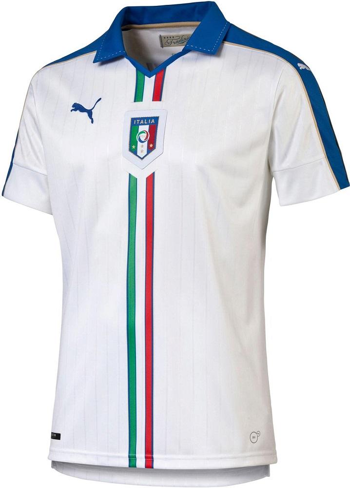 Гостевая форма сборной Италии 2016