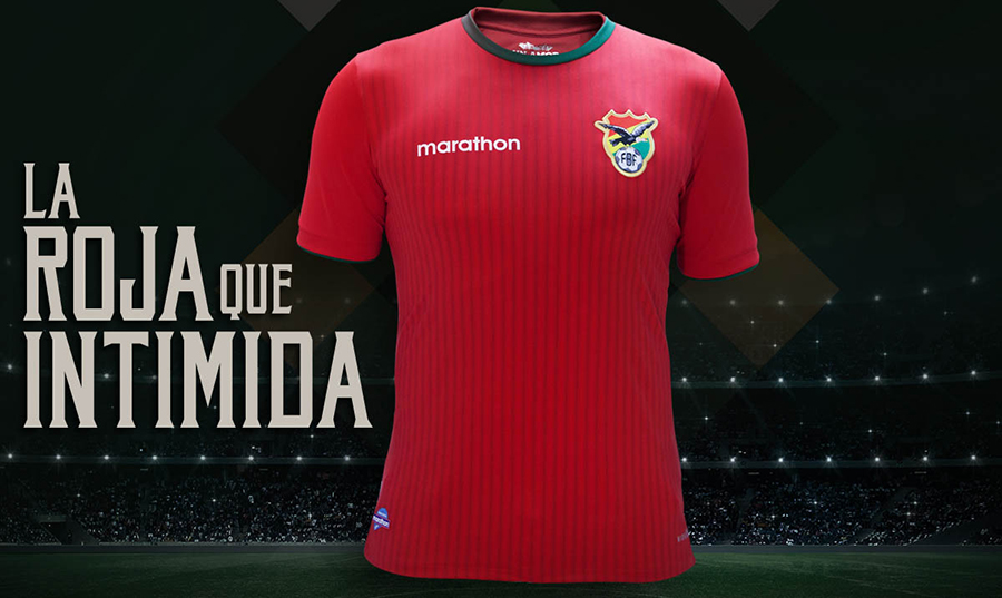 Форма сборной Боливии 2016