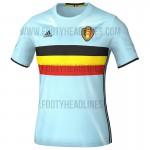 Гостевая форма сборной Бельгии Евро-2016