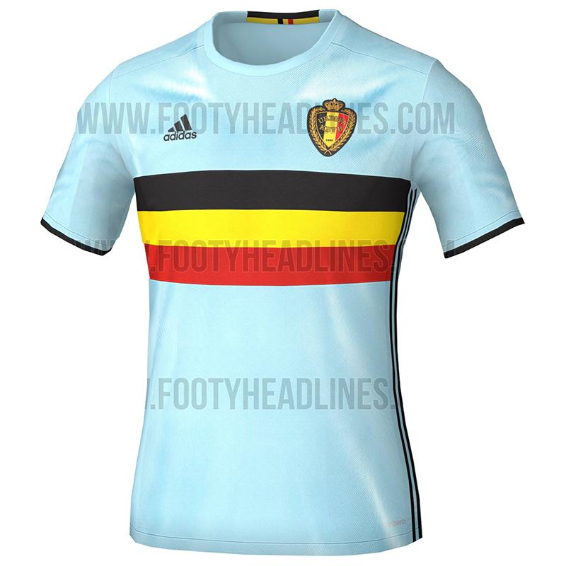 Домашняя форма сборной Бельгии Евро-2016