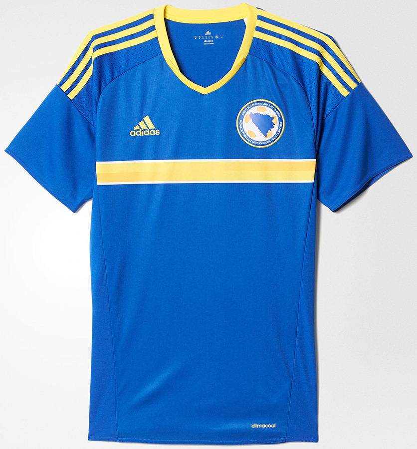 Домашняя форма сборной Боснии и Герцеговины 2016