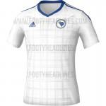 Гостевая форма сборной Боснии и Герцеговины 2016