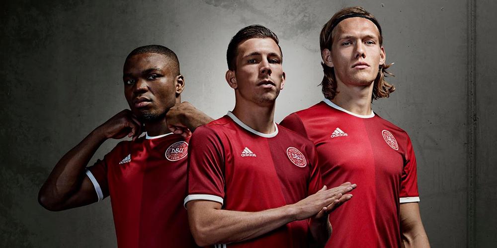 Форма сборной Дании Евро-2016