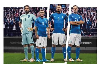 Форма сборной Италии 2016