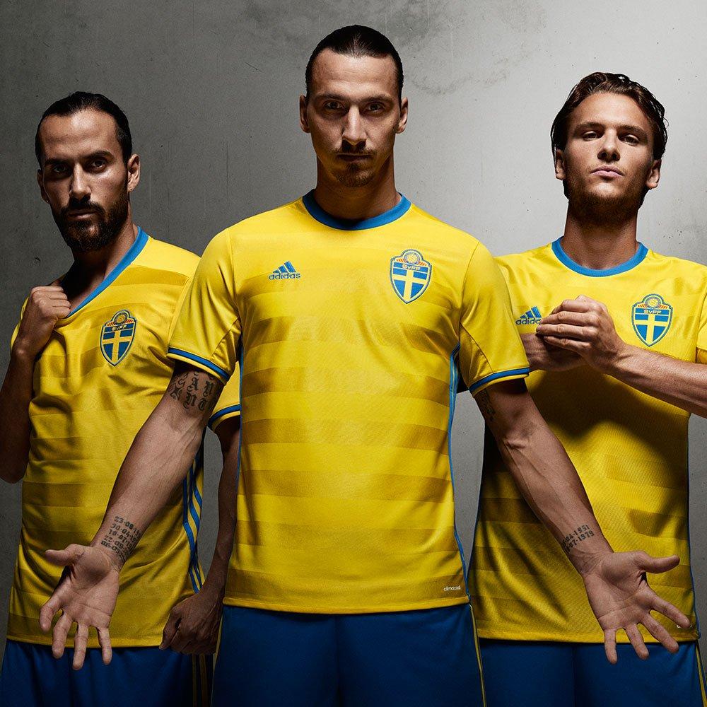 Форма сборной Швеции Евро-2016