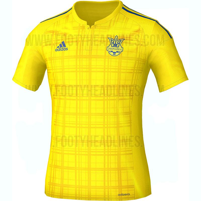 Домашняя форма сборной Украины 2016