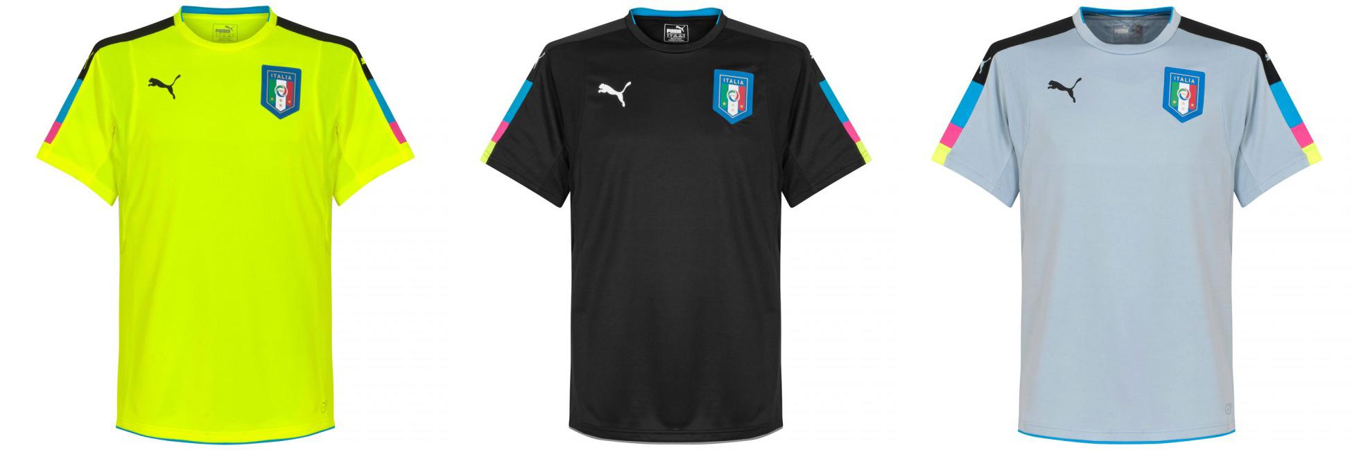 Вратарская форма сборной Италии 2016