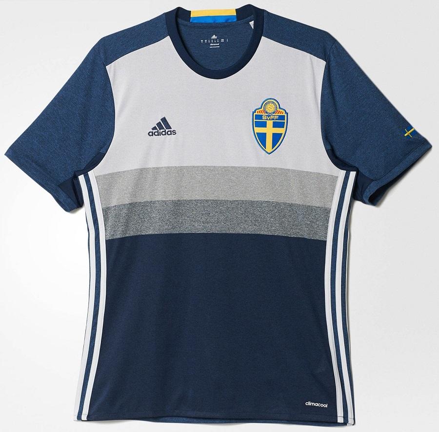 Гостевая форма сборной Швеции 2016