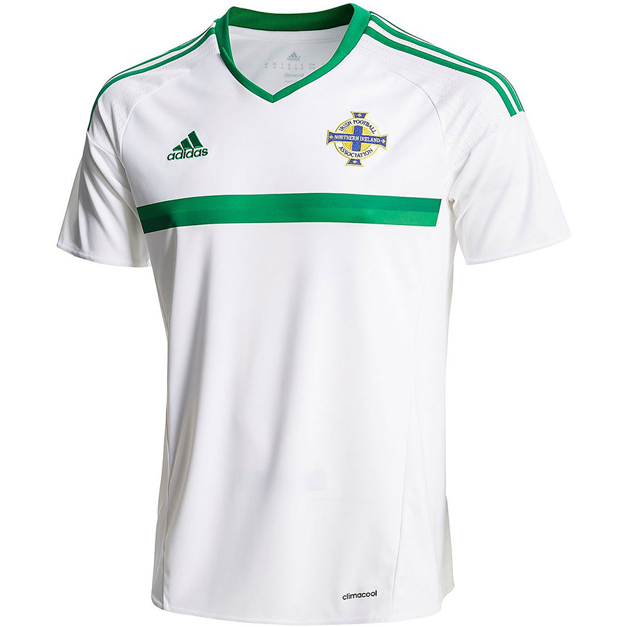Гостевая форма сборной Северной Ирландии 2016