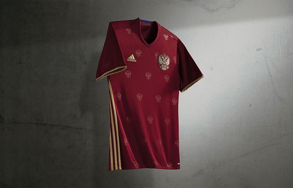 Домашняя форма сборной России Евро-2016