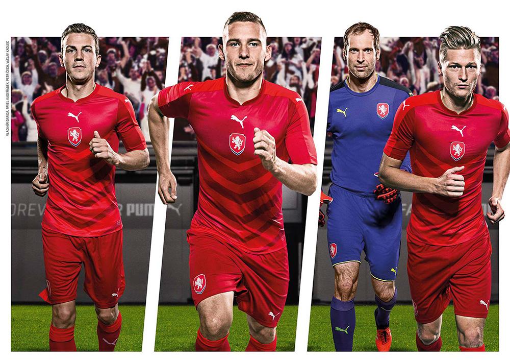 Форма сборной Чехии Евро-2016