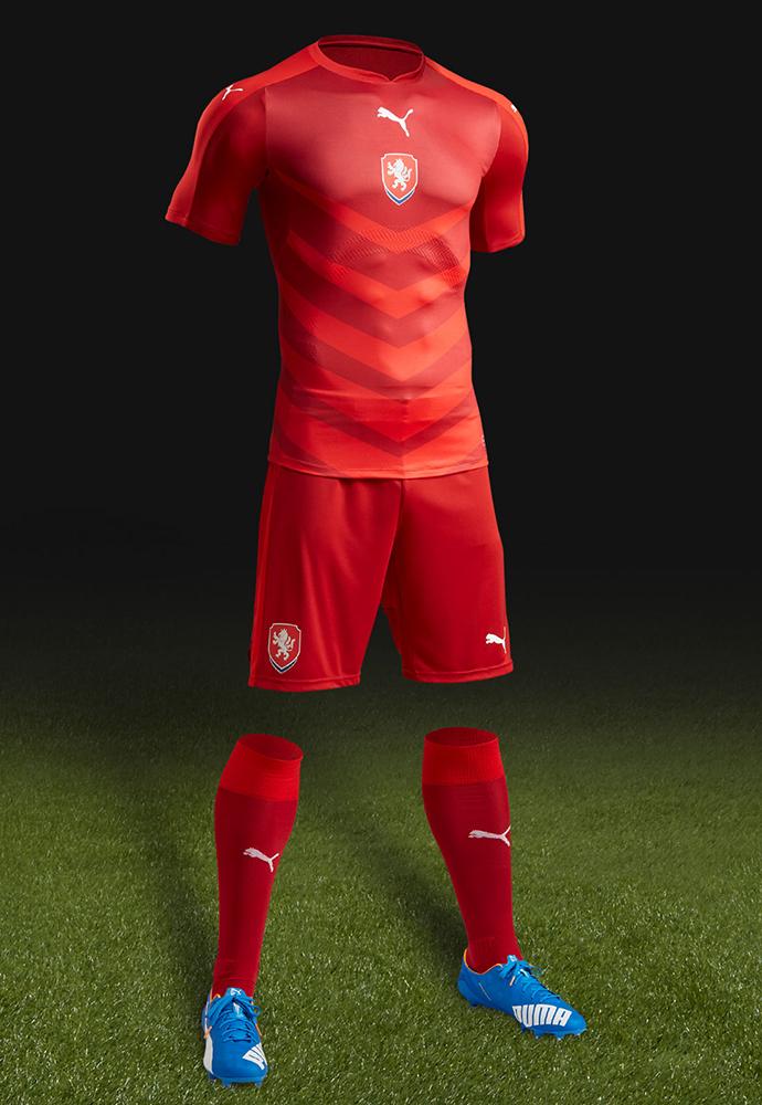 Домашняя форма сборной Чехии 2016
