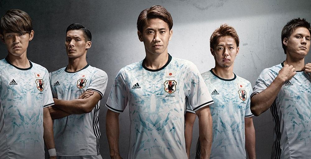 Гостевая форма сборной Японии 2016