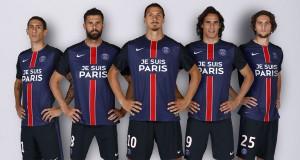 """""""ПСЖ"""" сыграет в форме с надписью """"Je suis Paris"""""""
