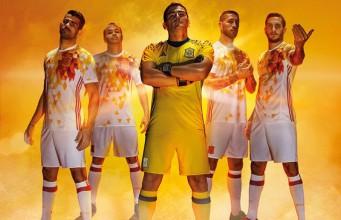 Гостевая форма сборной Испании Евро-2016