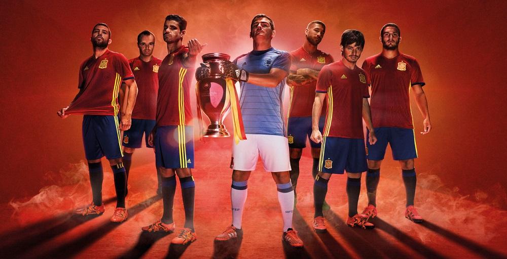 Форма сборной Испании ЕВРО-2016