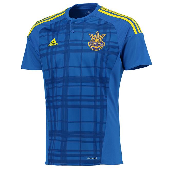 Гостевая форма сборной Украины 2016