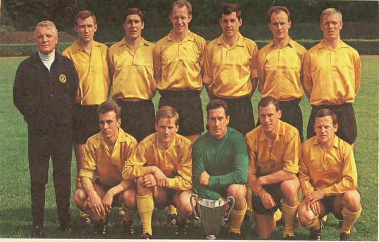 Боруссия Дортмунд в 1965-66 годах.