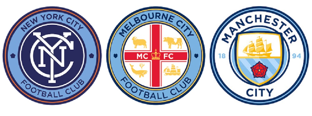 Логотипы клубов City Football Group