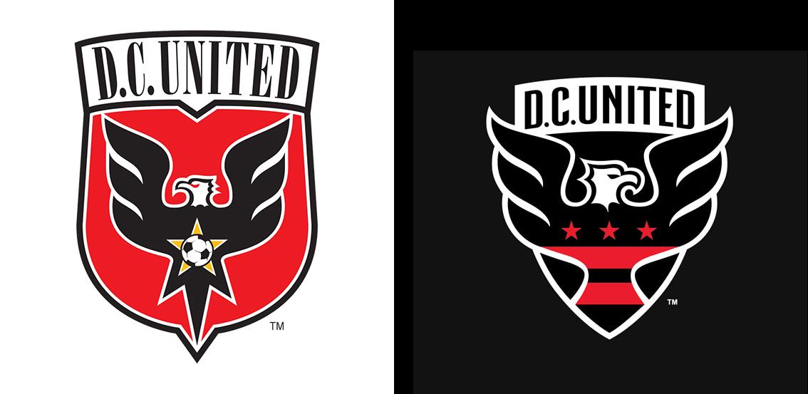 "Новый логотип ""Ди Си Юнайтед"""