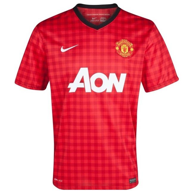 """Домашняя форма """"Манчестер Юнайтед"""" 2012/13"""