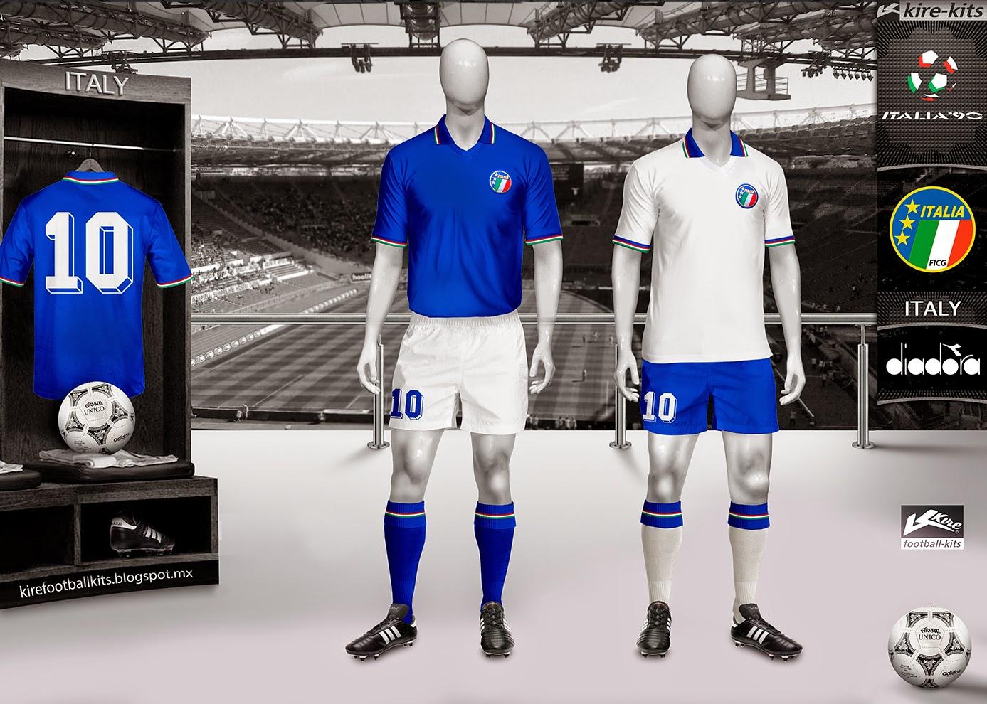 Форма сборной Италии 1990