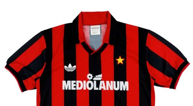 "Домашняя форма ""Милана"" 1991-92"