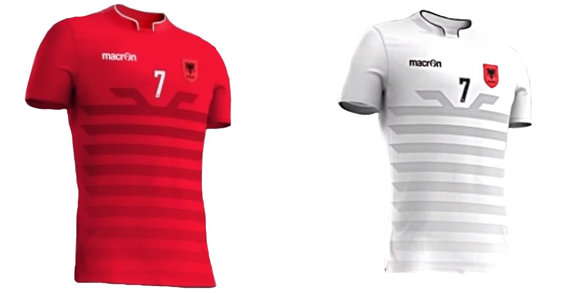 Новая форма сборной Албании Евро-2016