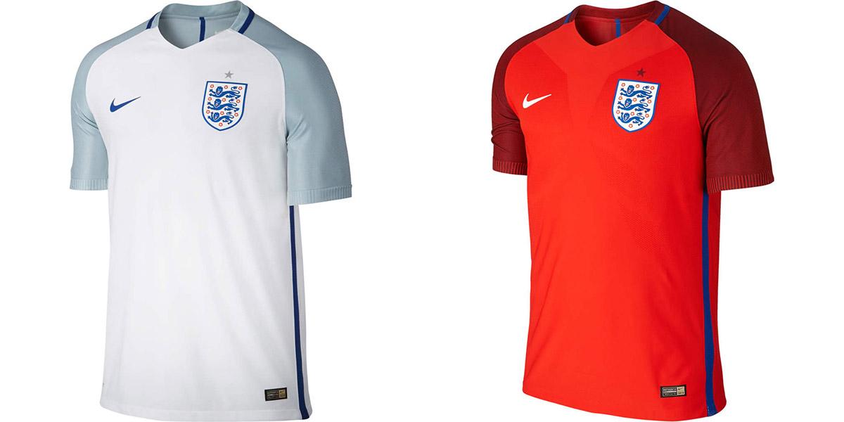 Новая форма сборной Англии Евро-2016