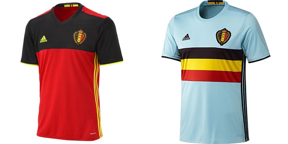 Форма сборной Бельгии Евро-2016