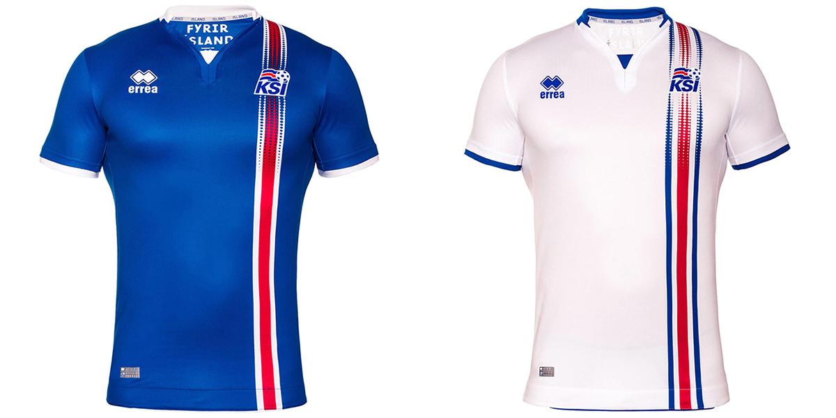 Форма сборной Исландии Евро-2016