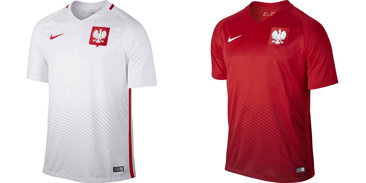 Новая форма сборной Польши Евро-2016