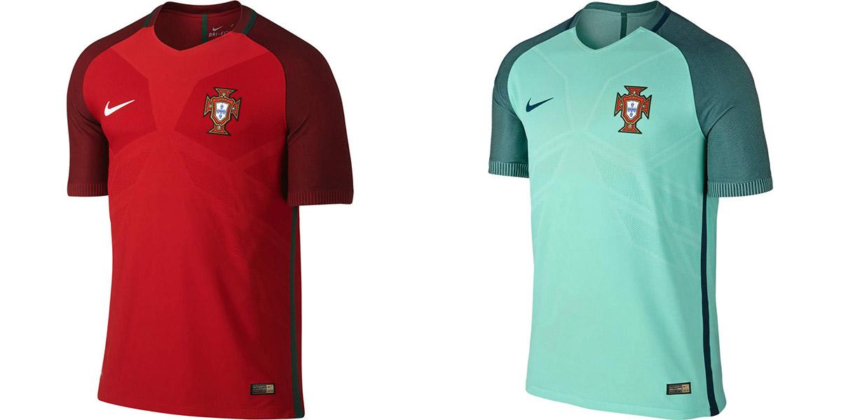 Новая форма сборной Португалии Евро-2016