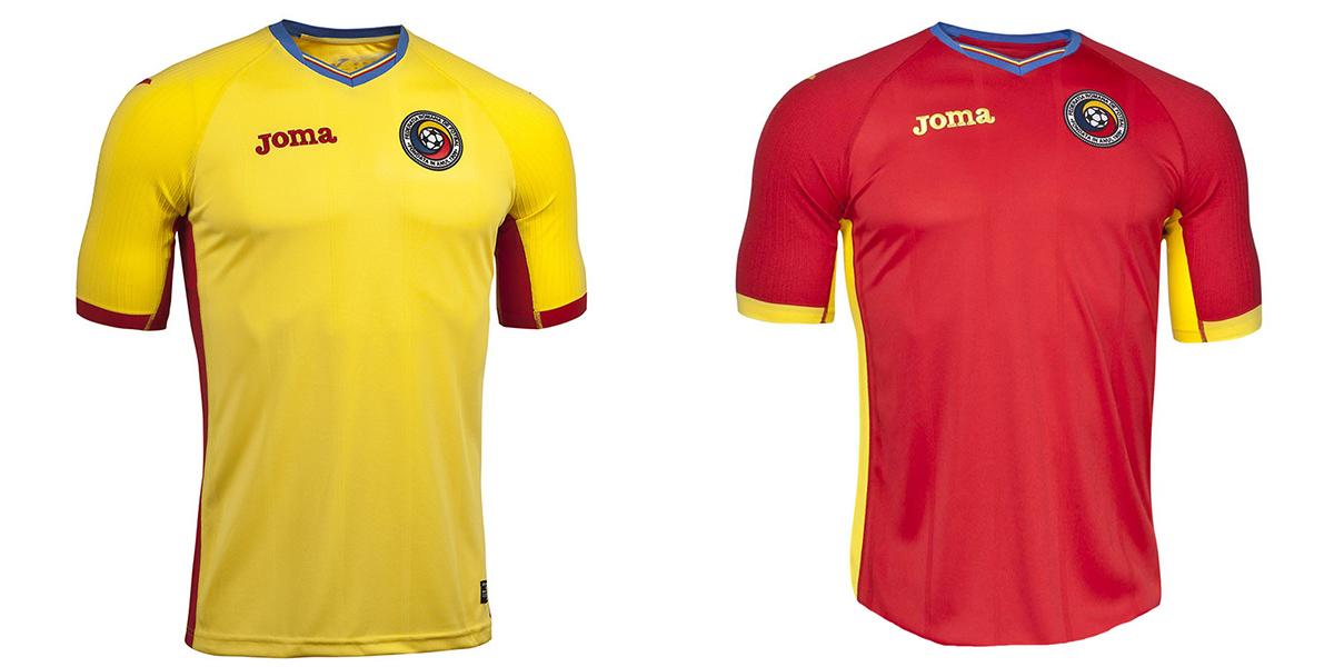 Новая форма сборной Румынии Евро-2016