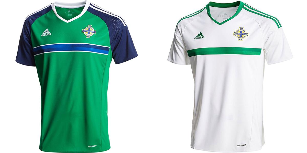 Новая форма сборной Северной Ирландии Евро-2016
