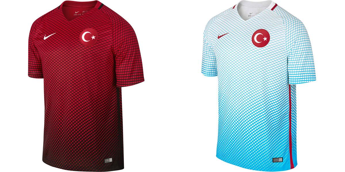 Новая форма сборной Турции Евро-2016
