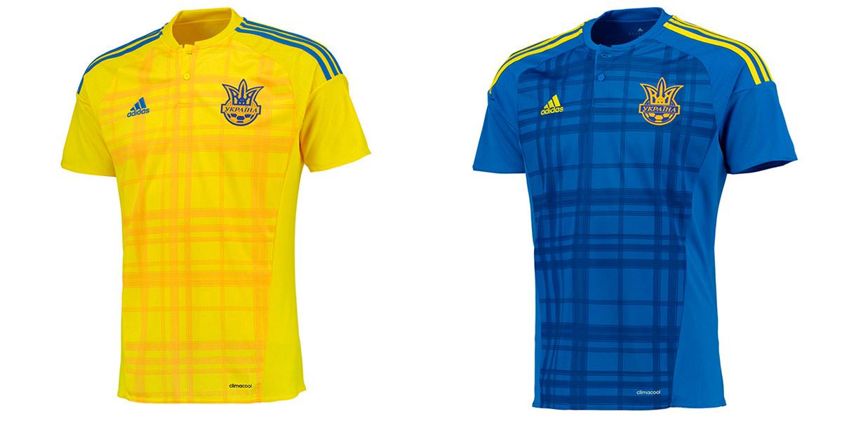 Форма сборной Украины Евро-2016