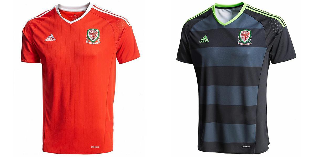 Новая форма сборной Уэльса Евро-2016