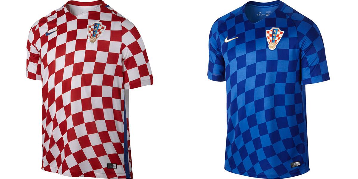 Новая форма сборной Хорватии Евро-2016