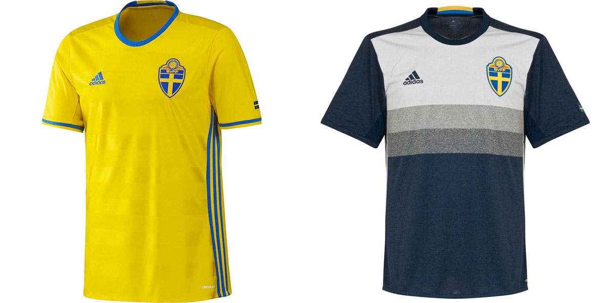 Новая форма сборной Швеция Евро-2016