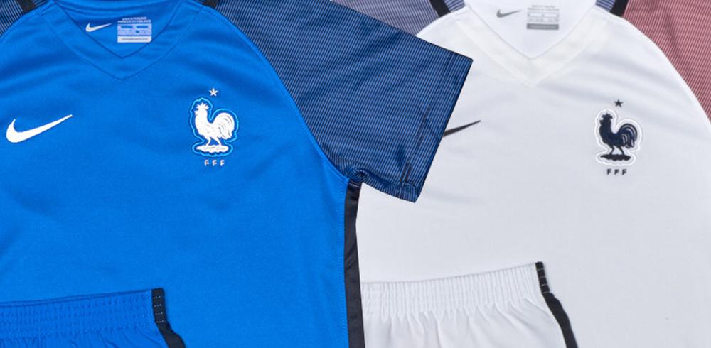 Новая форма сборной Франции 2016