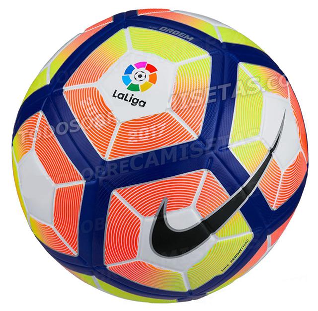 Мяч Ла Лиги NIKE ORDEM 4 16-17