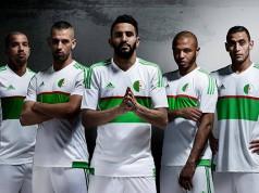 Домашняя форма сборной Алжира 2016