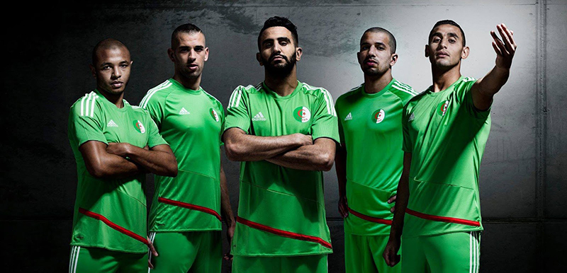 Гостевая форма сборной Алжира 2016