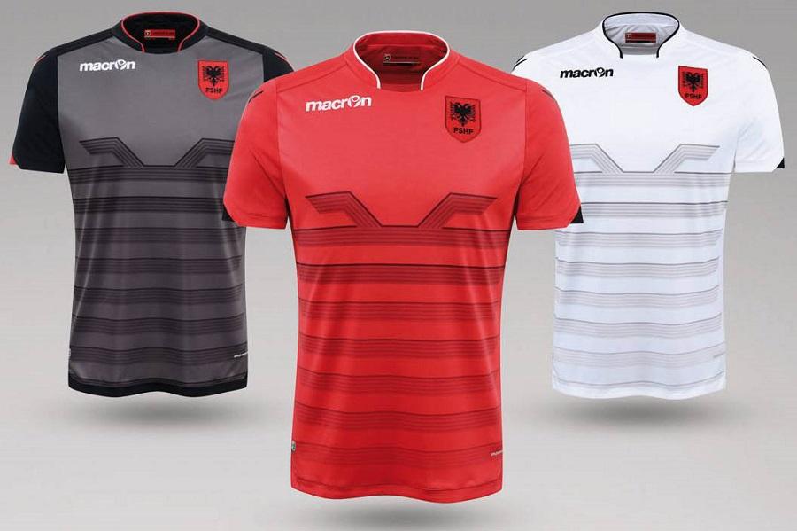 Новая форма сборной Албании 2016