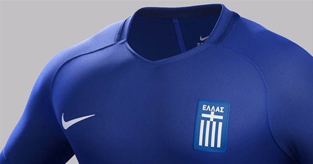 Гостевая форма сборной Греции 2016